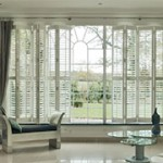Tracked Wood Shutters